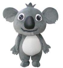 New Super Cute Koala Bear Mascot Costume Adult Kids Party