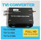 TVI CCTV HD-TVI to HDMI/VGA/Composite Video Converter Three in One