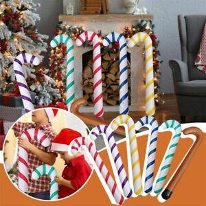 Christmas Decor Canes PVC Lollipop Balloon Inflatable Xmas Decor Canes Ballons