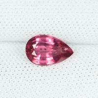 Birthday Gift 3.00 Cts Natural Zircon Top Luster Cushion Shape Transparent Blood Red Form Sri Lanka Wedding Anniversary Easter Gift