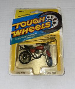 Kawasaki F11-250 Tough Wheels Motorcycle 1/26 Scale Kidco Die Cast Vintage Toy