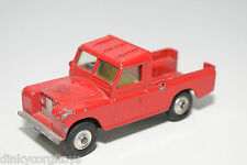 CORGI TOYS 477 LAND ROVER PICK UP RED EXCELLENT CONDITION