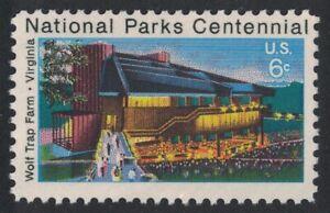 Scott 1452- Wolf Trap Farm, National Parks Centennial- MNH 6c 1972- mint stamp