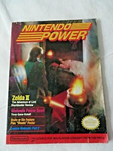 Nintendo Power Vol. 4 - Jan/Feb 1989 - Zelda II - NO Poster -  That I can see