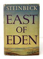 John Steinbeck - East of Eden - HCDJ 1st 1st 1st STATE - Basis James Dean Film