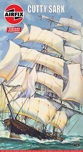Vintage Classic: Cutty Sark 1869 Ship 1:130 Plastic Model Kit A09253V Airfix
