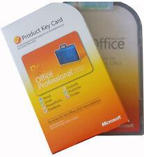 Microsoft OFFICE Professional 2010 BOX Vollversion Dauerhafte Lizenz PKC DEUTSCH