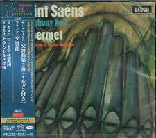 Saint-Saëns Saens Symphony No. 3 Ernest Ansermet Japan SACD w/OBI NEW/SEALED