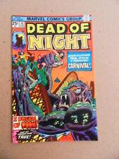 Dead of Night 10  . Jack.kirby / Steve Ditko - Marvel  1975 -  VF