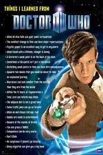 DOCTOR WHO - THINGS I LEARNED - TV SHOW POSTER 24x36 - DR 5383