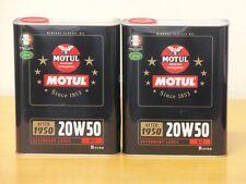 7,70 €/L Motul Classic MOTOR OIL SAE 20w50 2 x 2 Ltr
