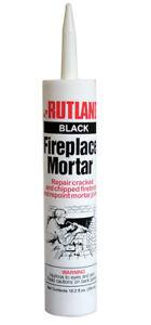 Rutland Black Fireplace Mortar 10.3 ounce #63