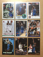 Kevin Garnett Lot Of 9 Different Cards Timberwolves Celtics 1998-2009