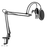 Neewer NW-800 Studio Condenser Microphone Kit with Arm Stand and Shock Mount