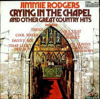 JIMMIE RODGERS Crying In The Chapel  UK  vinyl LP EXCELLENT CONDITION