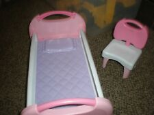 ~FISHER PRICE DOLL BED AND CHAIR....12.99