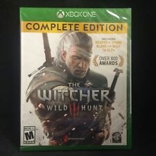 Witcher 3: Wild Hunt -- Complete Edition (Microsoft Xbox One, 2016)  Region Free