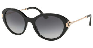 Genuine BVLGARI 8216B Sunglasses Replacement Lenses  - Grey Gradient 54mm