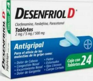 Desenfriol D Antigripal 24 Tablets