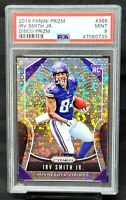 2019 Prizm DISCO REFRACTOR Vikings IRV SMITH JR. Rookie Card PSA 9 MINT - Pop 2