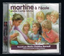 MARTINE À L'ÉCOLE SUIVI DE 5 AUTRES HISTOIRES - MARIE-CHRISTINE BARRAULT - NEUF