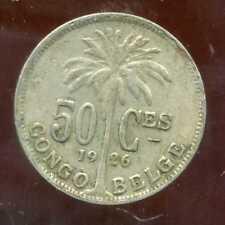 CONGO   BELGE   50 centimes 1926  (  belges )