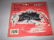 YVONNE PRINTEMPS PIERRE FRESNAY 25CMS FR. LES 3 VALSES