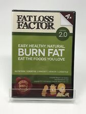 New Sealed DVD Fat Loss Factor Version 2.0 Burn Fat Eat The Foods You Love