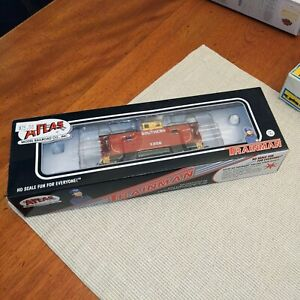 ATLAS TRAINMAN HO SOUTHERN X256 CUPOLA CABOOSE MIB #20 003 688 Railroad