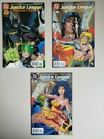 Justice League Midsummer's Nightmare 1 2 3 DC 1996 Set Series Run Lot 1-3 VF/NM