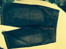Ladies GIRL EXPRESS 3/4 DENIM PANTS SIZE 14 TWO PAIRS