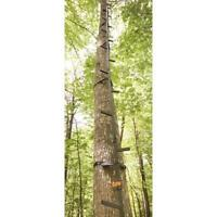 Tree Stand Climbing Sticks 20 ft. Hunting Ladder Stainless Steel Holds 300 lbs.