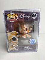 Funko Pop! Disney Art Series #06 Zero Funko Shop Exclusive W/Pop Stack Case