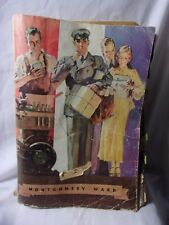 Montgomery Ward 1933 1934 Antique Bicycles Guns Clothing Watches Catalog    T*