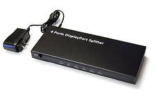 Bytecc DPSP104 1X4 DisplayPort 1.2a 4K2K Powered Splitter