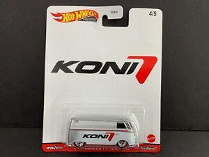 Hot Wheels Volkswagen T1 Panneau Bus Koni DLB45-946K 1/64