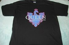 Queen Shirt Black Size L Adult + Paul Rodgers 2005 Tour Shirt New