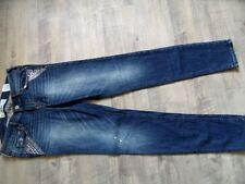 HOLLISTER coole skinny Jeans mit Strass Gr. 27/31 NEU RC817