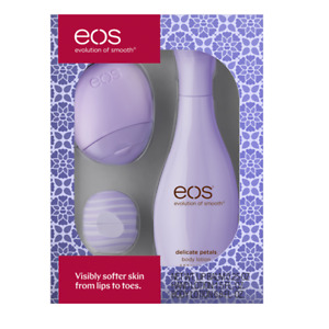 EOS Delicate Petals Gift Set, pack of 1 Lotion And Lip Balm