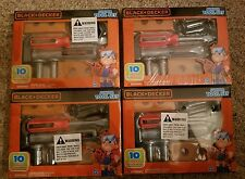 4 New Sealed Black and Decker 10 Piece Junior Tool Sets (4 Count Bundle Lot)