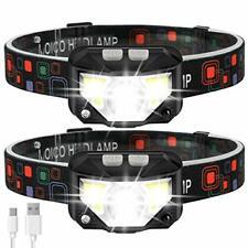Headlamp Flashlight, MOICO 1000 Lumen Ultra-Light Bright LED Rechargeable