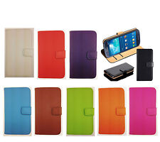 REAL LEATHER WALLET STAND CASE CARD POCKET FOR Samsung Galaxy Note 2 II N7100 UK