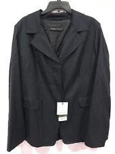 New Marina Rinaldi Wool Silk Jacket Size 20