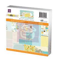 Prima Lady Bird 6x6 Paper pad 845650 New 2013 Scrapbook  in  teal yellow orange