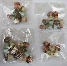 24 Vintage Wood Cone Shaped Angels Handmade Party Favors Christmas