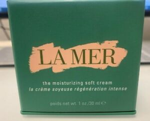 La Mer The Moisturizing Soft Cream 1oz./30ml  NEW - Open Box- No Cap