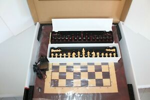 Square Off Kingdom Chess Set AI Electric Wooden Chessboard Board Game