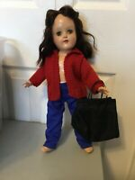 "DOLL Clothes Sweater/pants/Purse-for 14"" Doll R12"