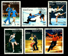 OLYMPIC GAMES 1992 Winter Olympics,Albertvile figure skatings LAOS
