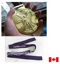 London 2012 Olympic 'Gold' Medal  with Ribbon and Display Stand !!!